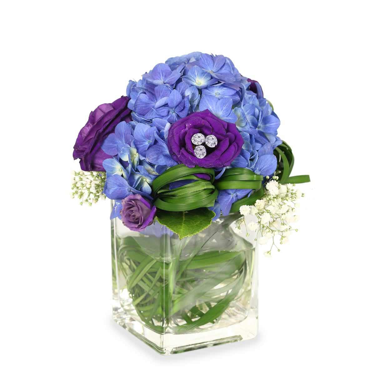 AF1702 royal love hydrangea arrangement