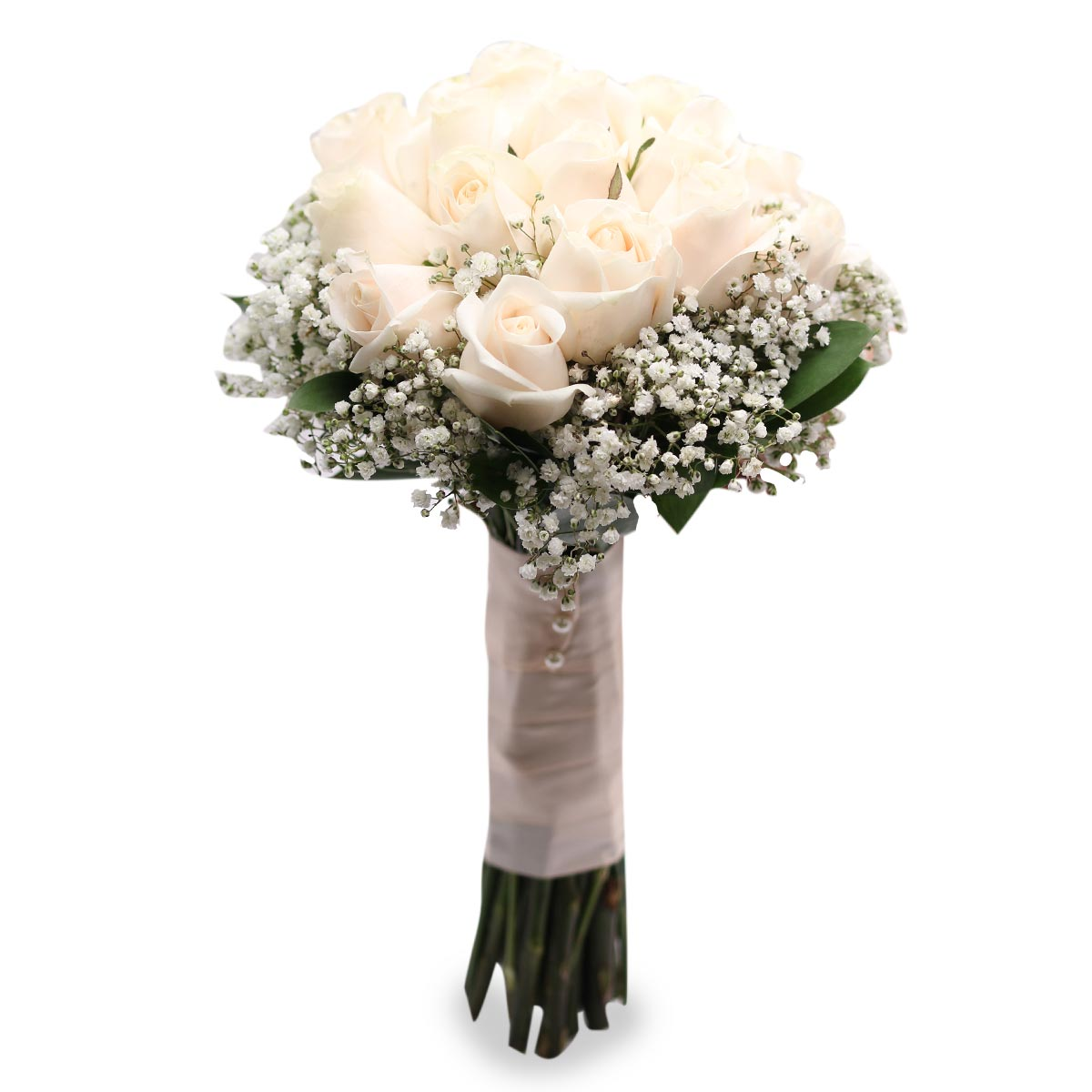 WB1636 bridal rose bouquet