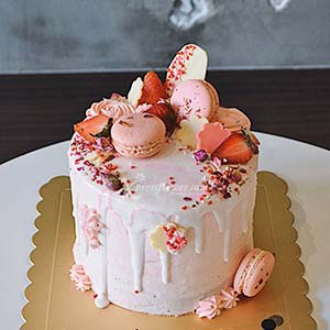 Rose Lychee Cake