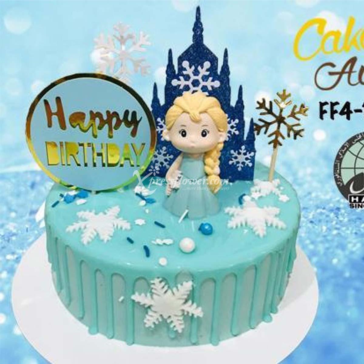 CAC2101 Happy Birthday Snow Princess B