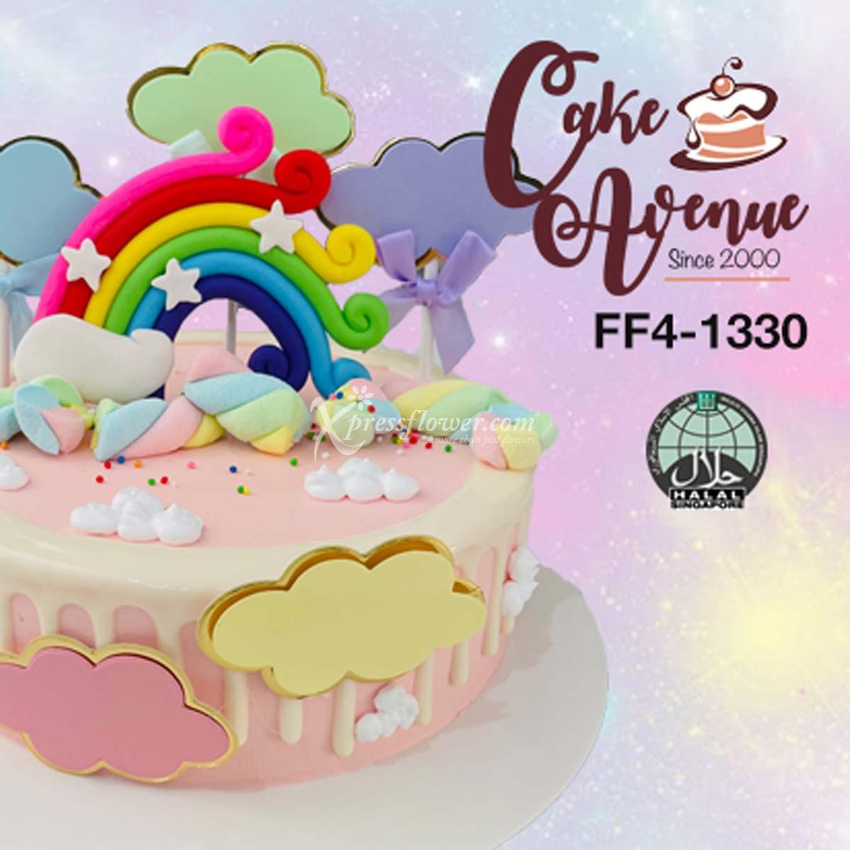 Rainbow Pink (Cake Avenue)