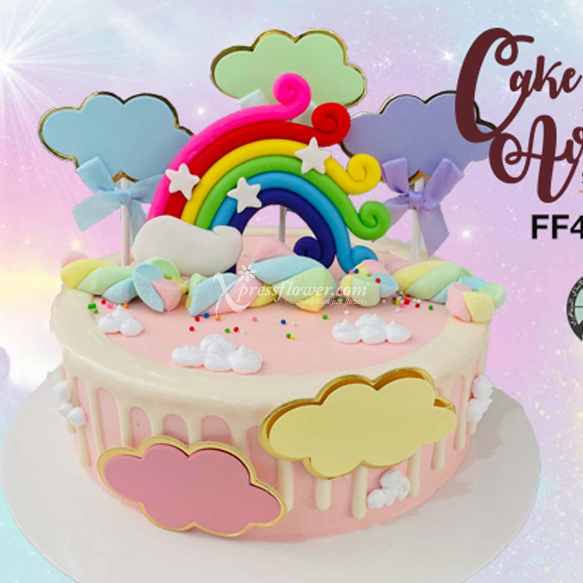 CAC2108 Rainbow Pink B