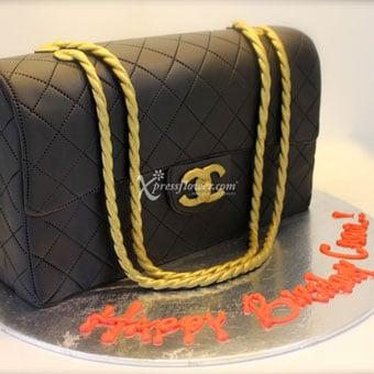3D Chanel Bag - 2kg (Cake Avenue)