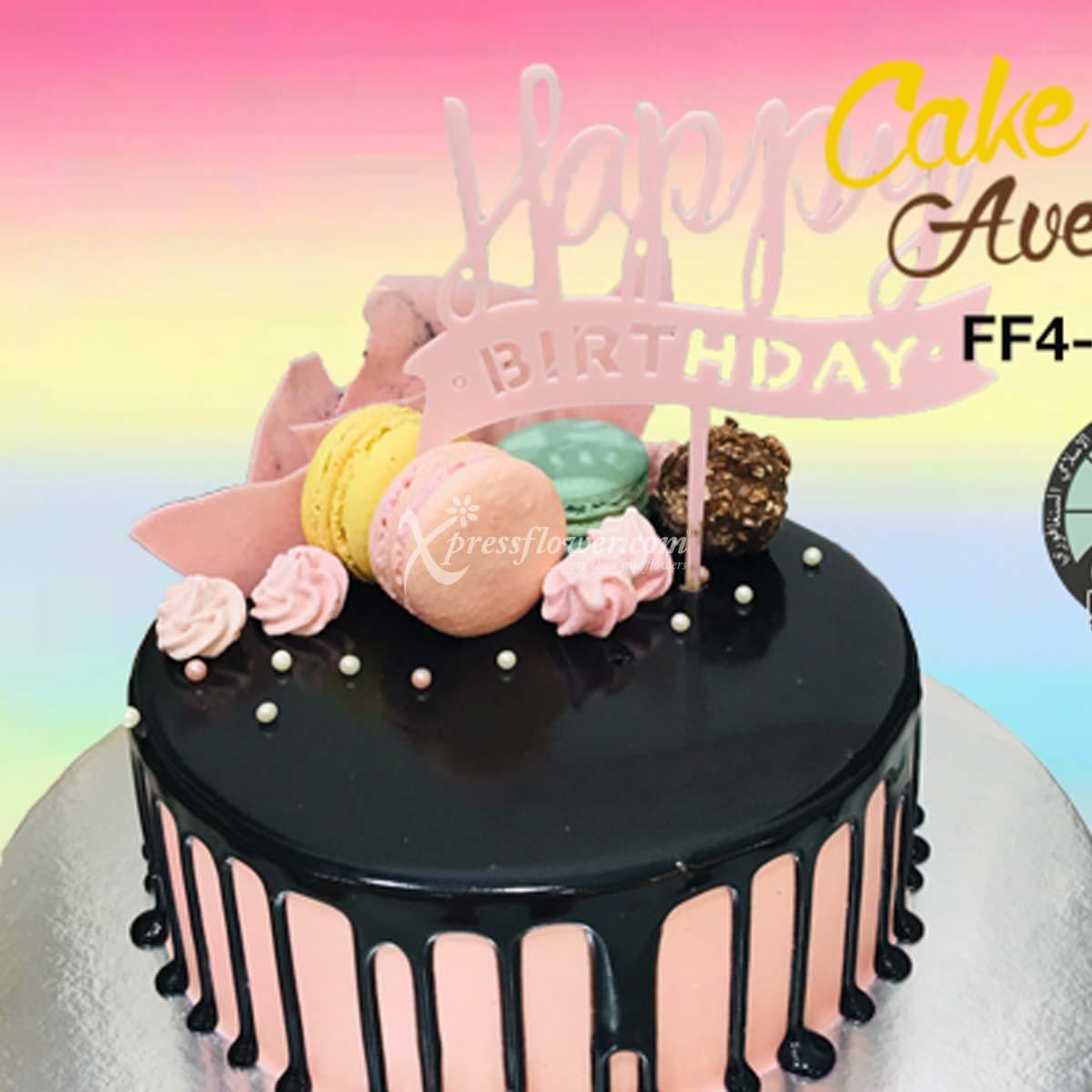 CAC2114 Happy Birthday Pink B