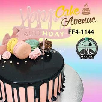 Happy Birthday - Pink (Cake Avenue)