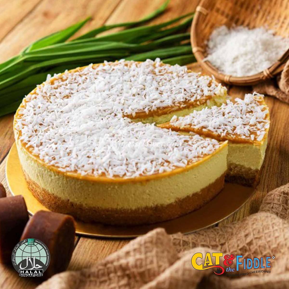 Gula Me Gusta Pandan Gula Melaka Cheesecake (Cat & The Fiddle)