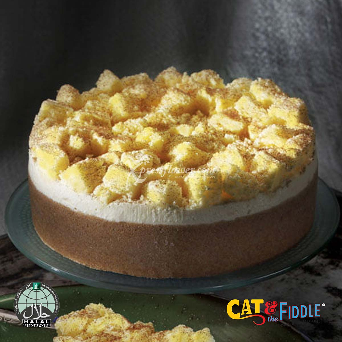 King Cat of the Mountain Durian Cheesecake - Mao Shan Wang Asian-inspired (Cat & The Fiddle)