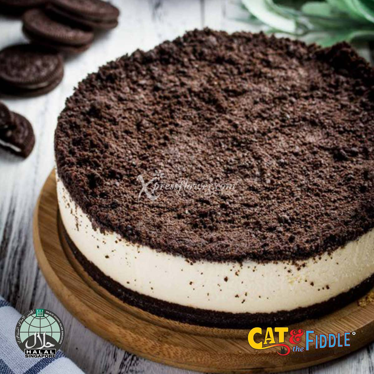 The Modern Duke's Pudding Oreo Cookies and Cream Cheesecake (Cat & The Fiddle)