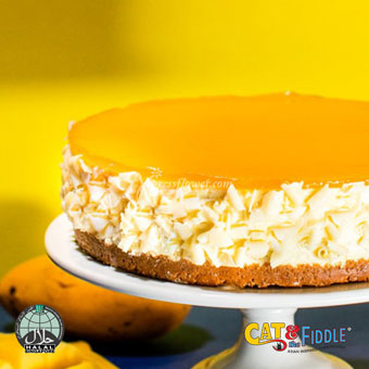 The Russian Whiskers Mango Cheesecake (Cat & The Fiddle)