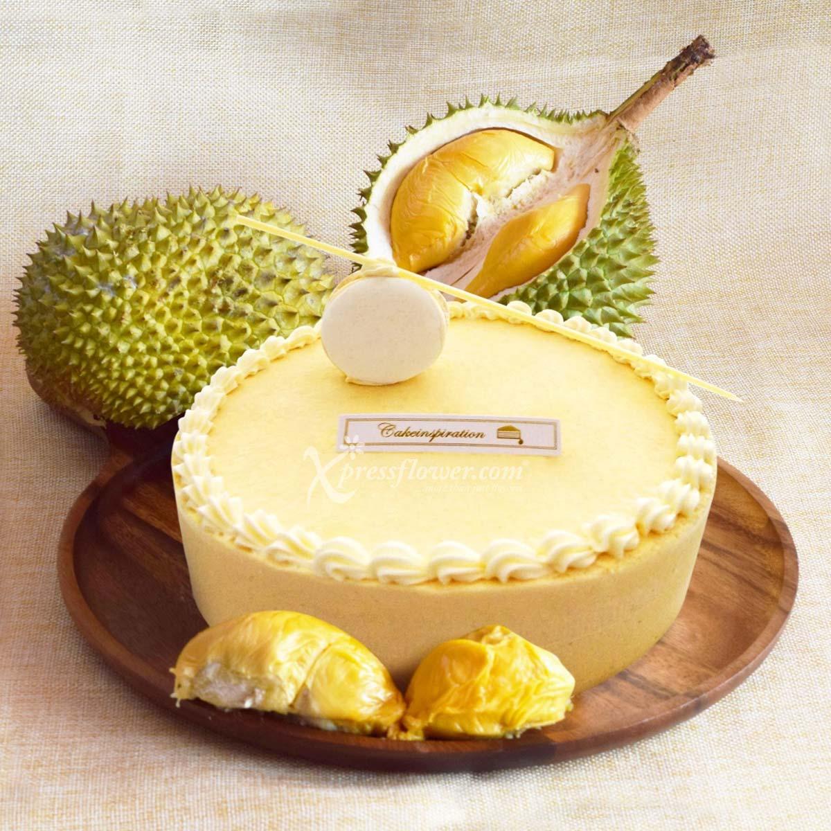 Durian Mousse Cake (Cake Inspiration)
