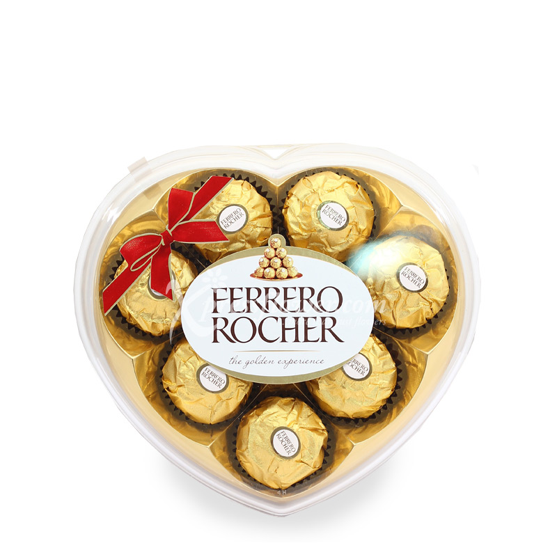 Heartshape Rocher (8pcs)