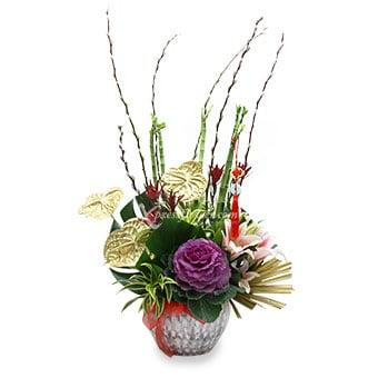 Golden Fortunes (CNY Flower Arrangement)