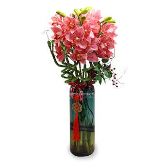 Charming Luck (CNY Artificial Flower Arrangement)