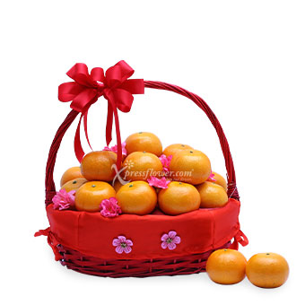 Fruits of Labour (CNY Orange Hamper)
