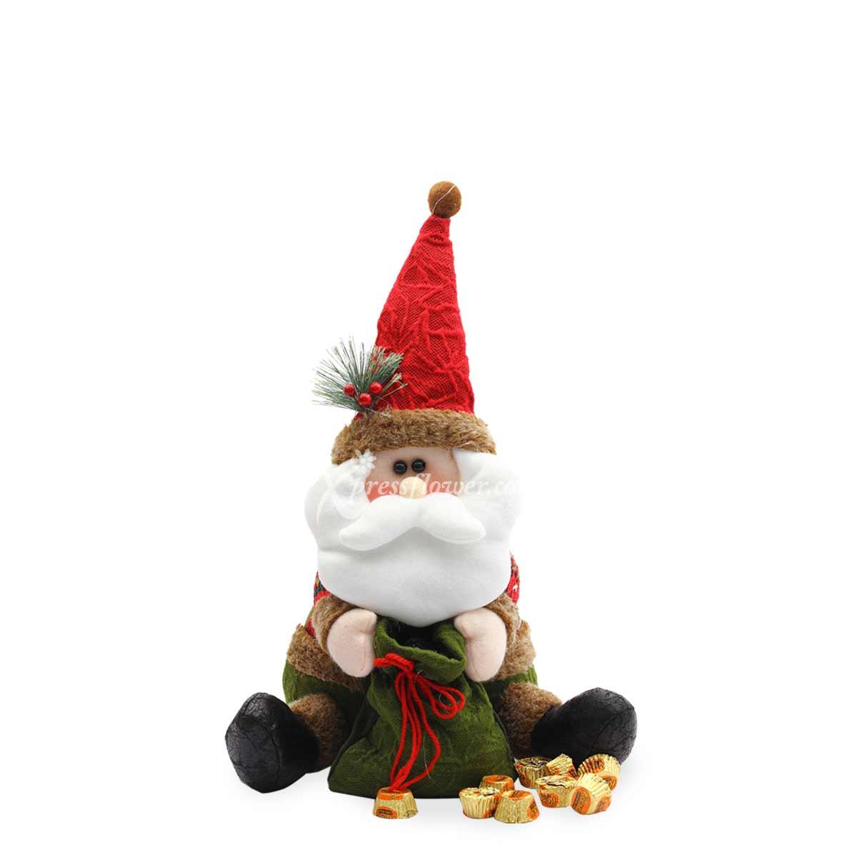 XMM1982 Santas Sugar Treats flower and gift