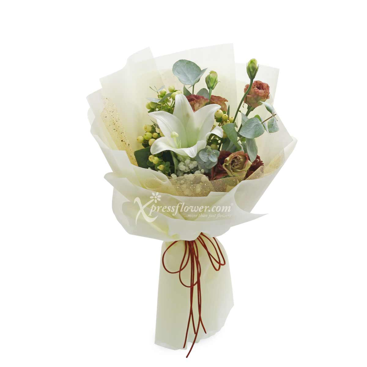 XMM1985 Frosty the Snowman Flower and Gift
