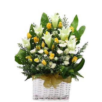 Unwavering Solace (Funeral Flower)