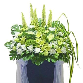 Heavenly Terrace (Funeral Condolence Flower Wreath)