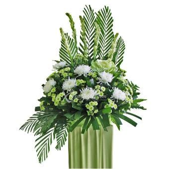 Dignified Adieu (Funeral Condolence Flower Wreath)