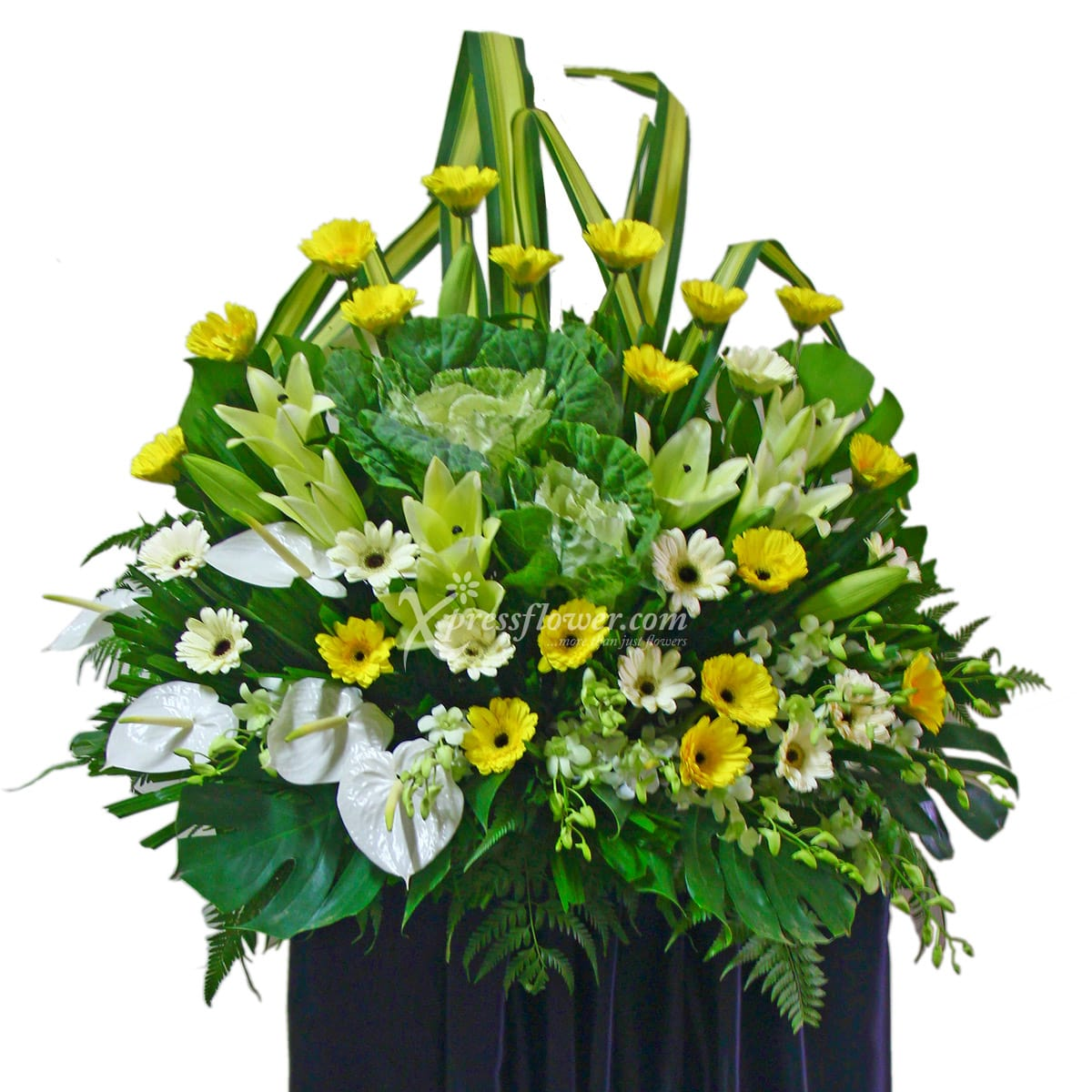 SC1415 Heaven On Earth Wreath Funeral & Condolence Flower Stands