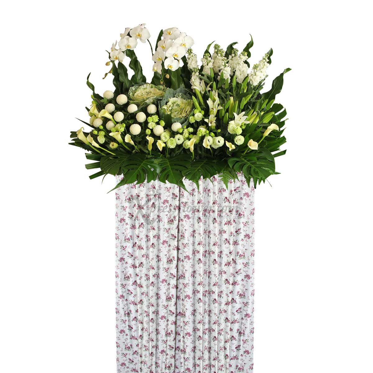 SCP1802 With Love And Remembrance Wreath Funeral & Condolence Flower Stands