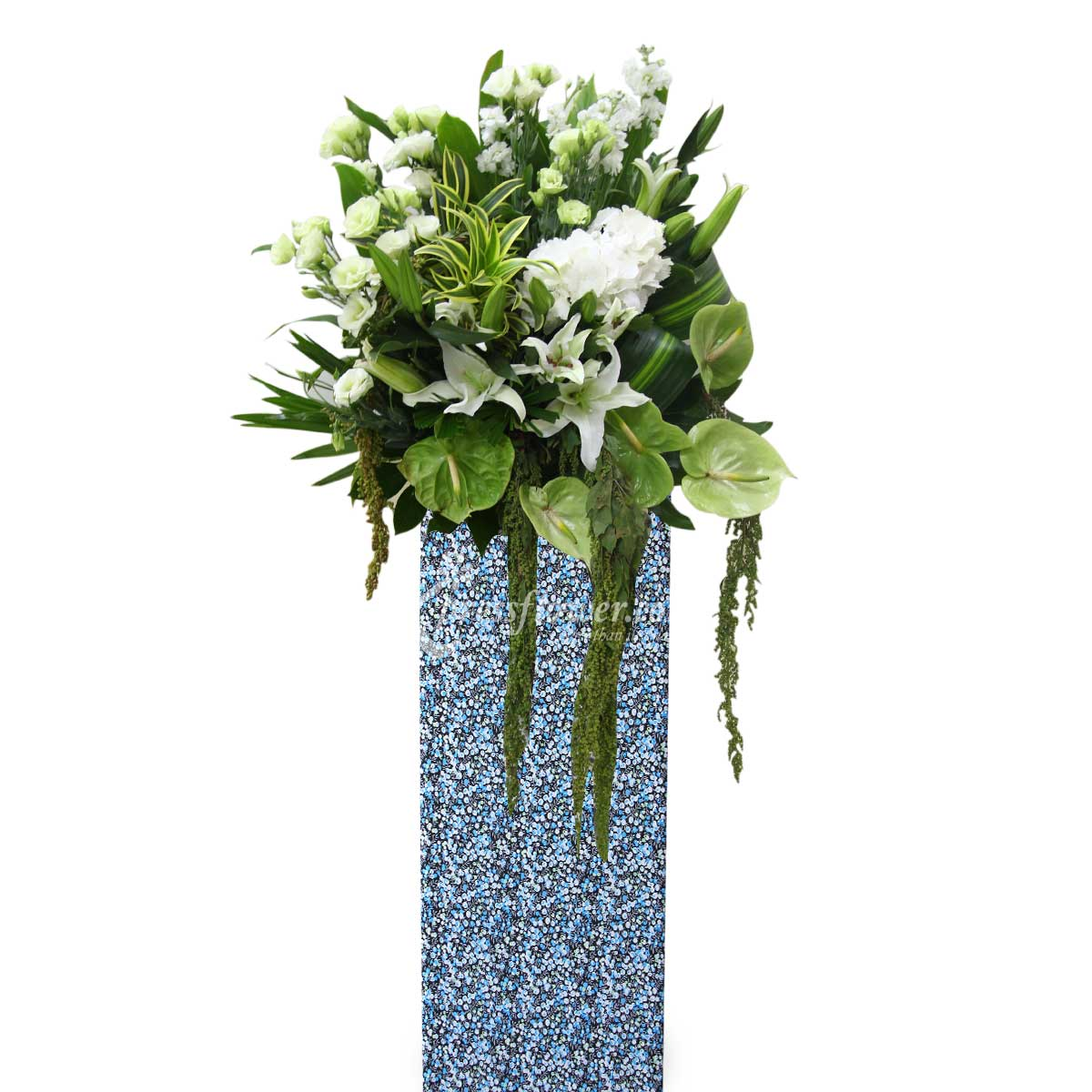 SC1602 Saccharine Wreath Funeral & Condolence Flower Stands