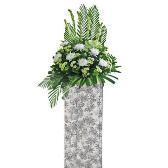 Reassuring Parting (Premium Funeral Condolence Flower Wreath)