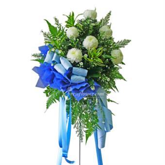 Blue Solace (Wreath)