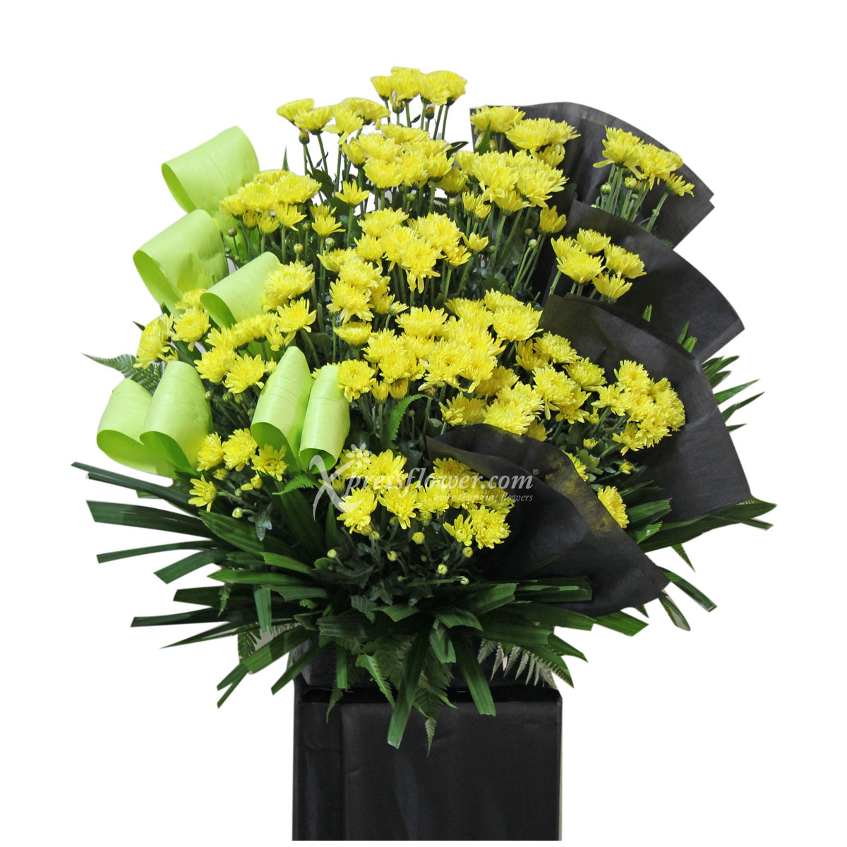 SC1714 fond memories condolence flower wreath stands