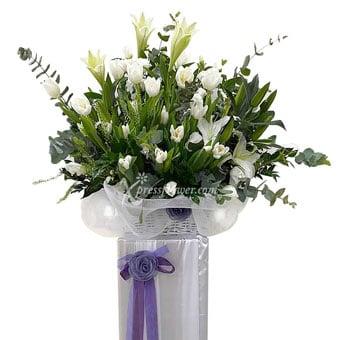 Loving Care (Funeral Condolence Flower Wreath)
