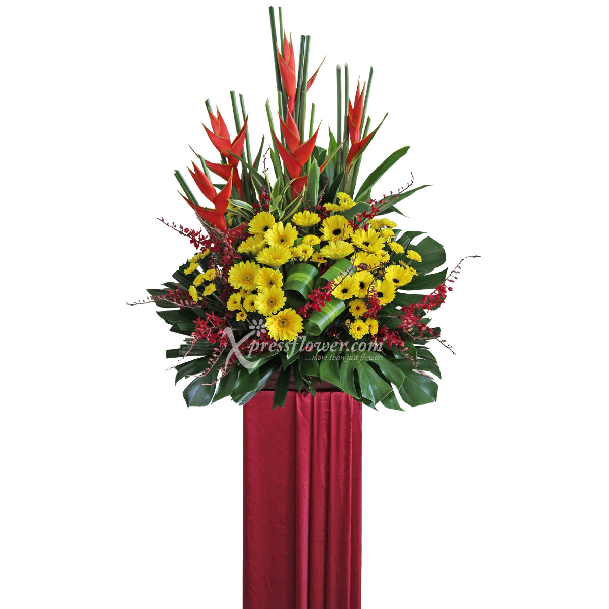 CS1704 Extraordinary Feat congratulatory flower opening stand