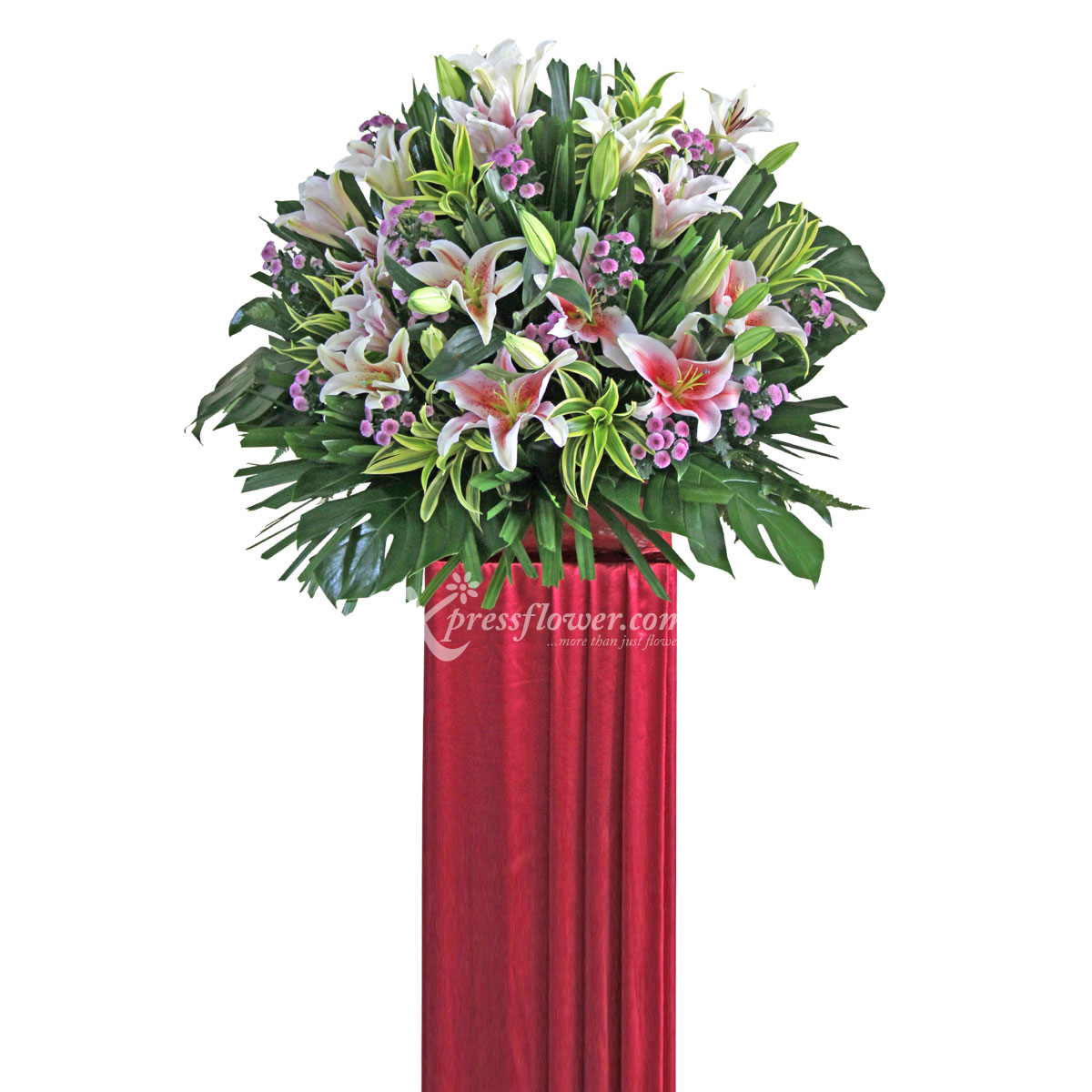 CS1707 Energetic Endeavor congratulatory flower opening stand