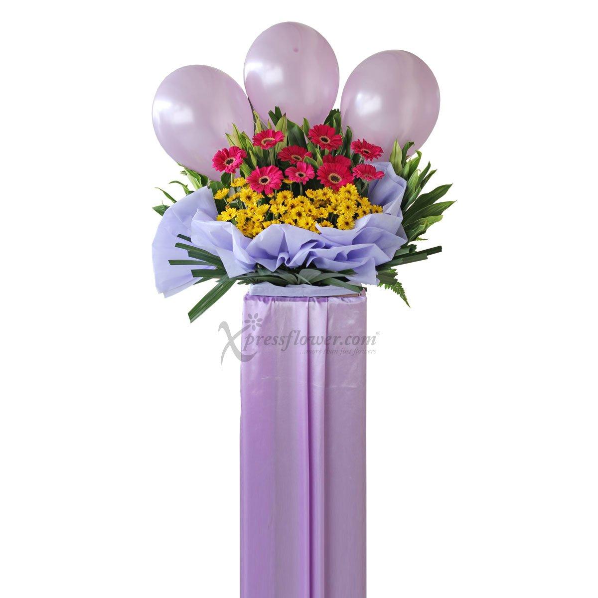 CS1711 Triumphant Moment congratulatory flower opening stand