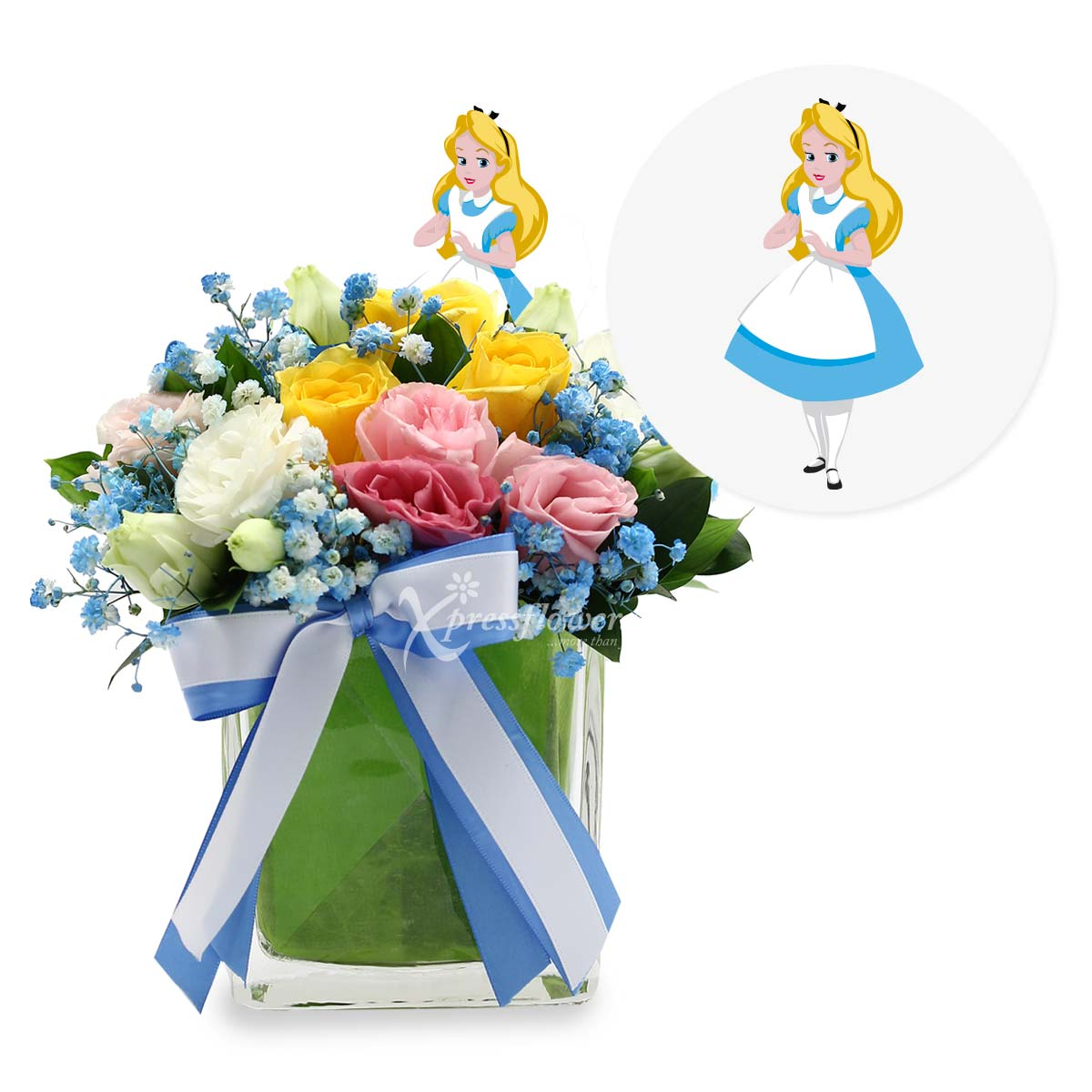 DSAR1832 Faith, Trust & Pixie Dust flower arrangement