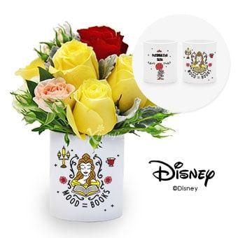 Tale As Old As Time (Personalised Disney Belle Flower Arrangement)