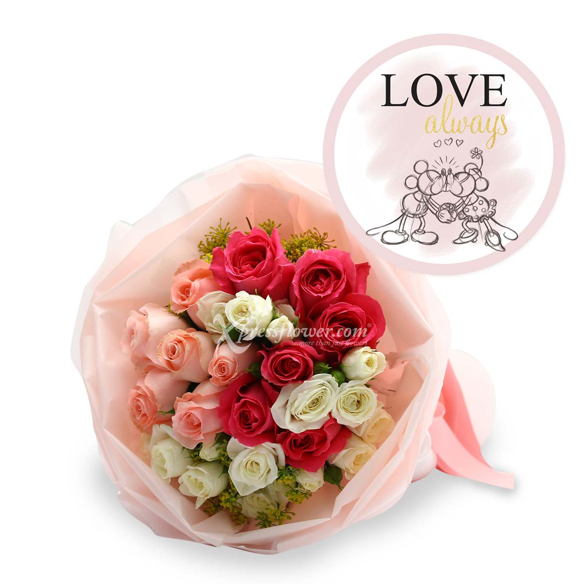 DSBQ1806 The True Mouse-terpiece bouquet