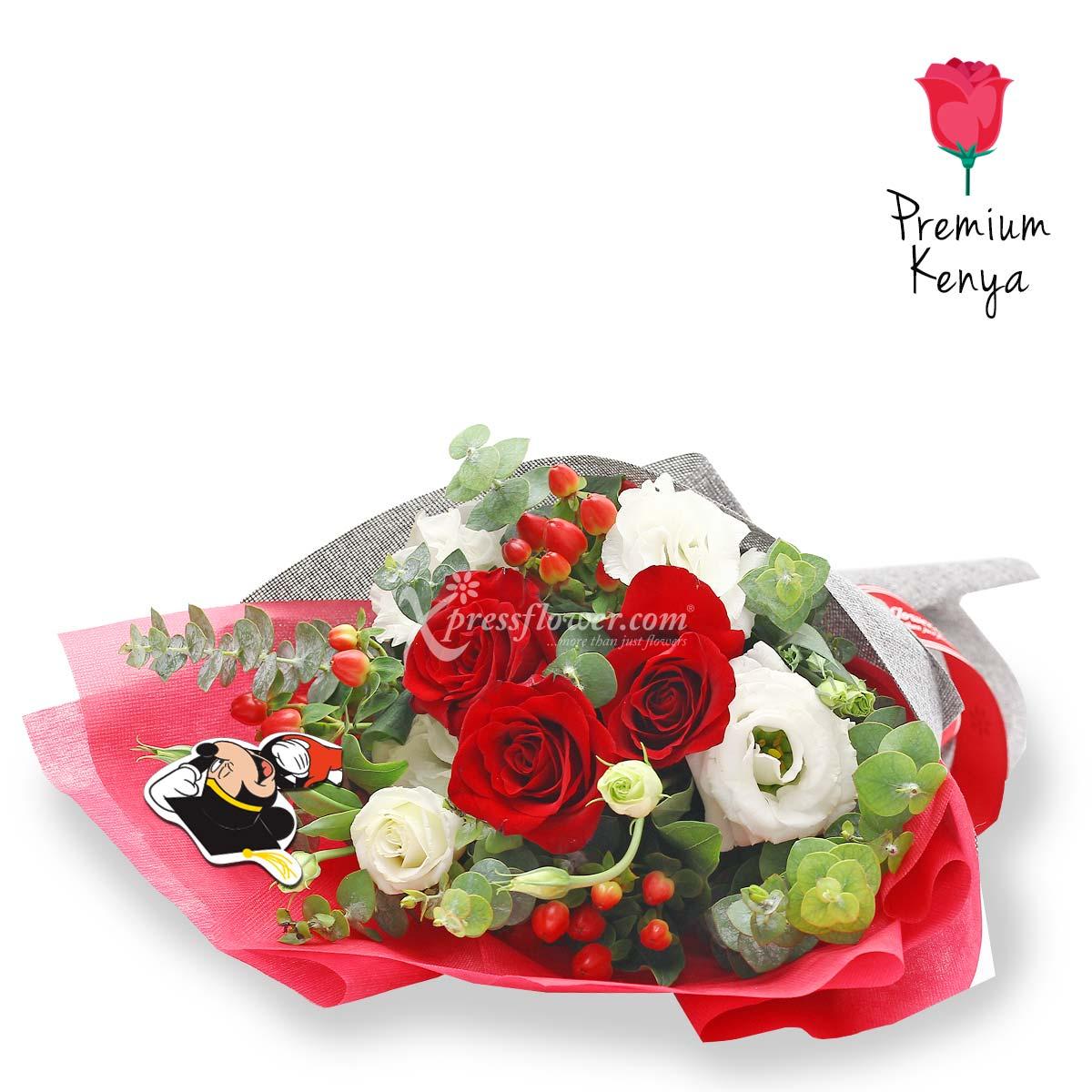 DSBQ1902 No Limits Disney bouquet
