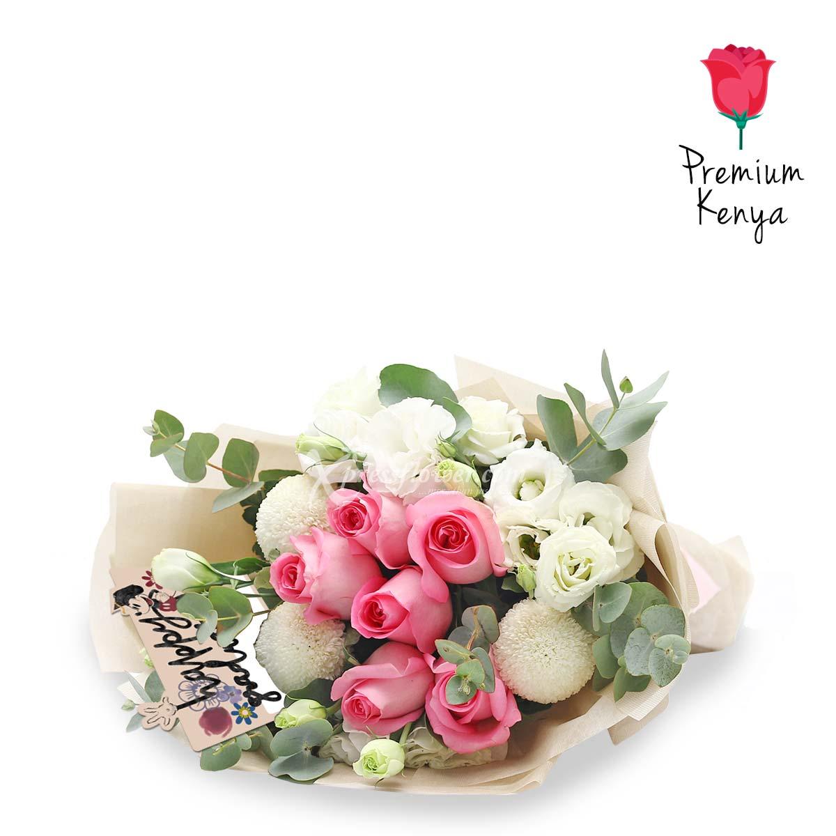 DSBQ1904 Cheerful Delight Disney bouquet