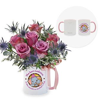 Hugging Mum (6 yam roses)