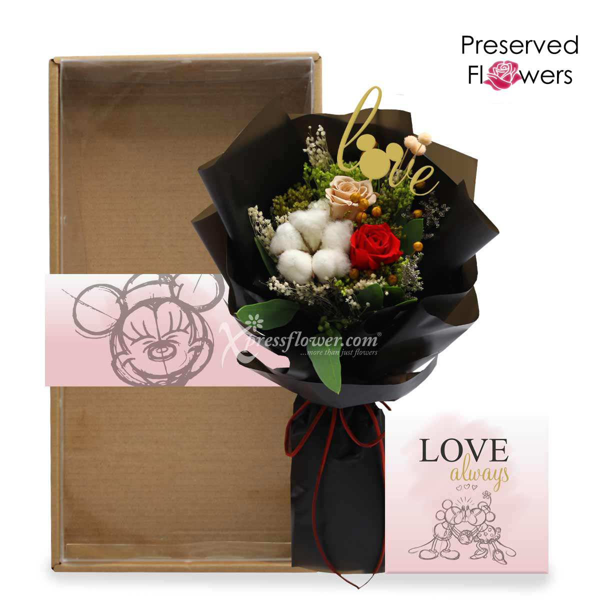 Eternally in My Heart (Preserved Flowers)