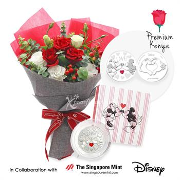 Online Christmas flower and gift delivery Singapore