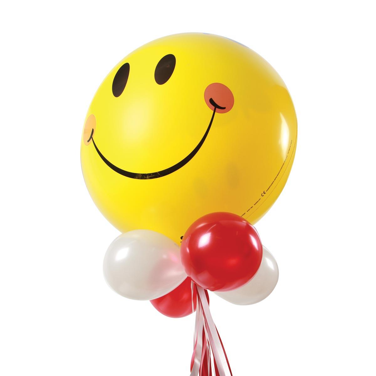 HBQ1712 bright smiles helium balloon bouquet