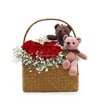 Romantic Basket