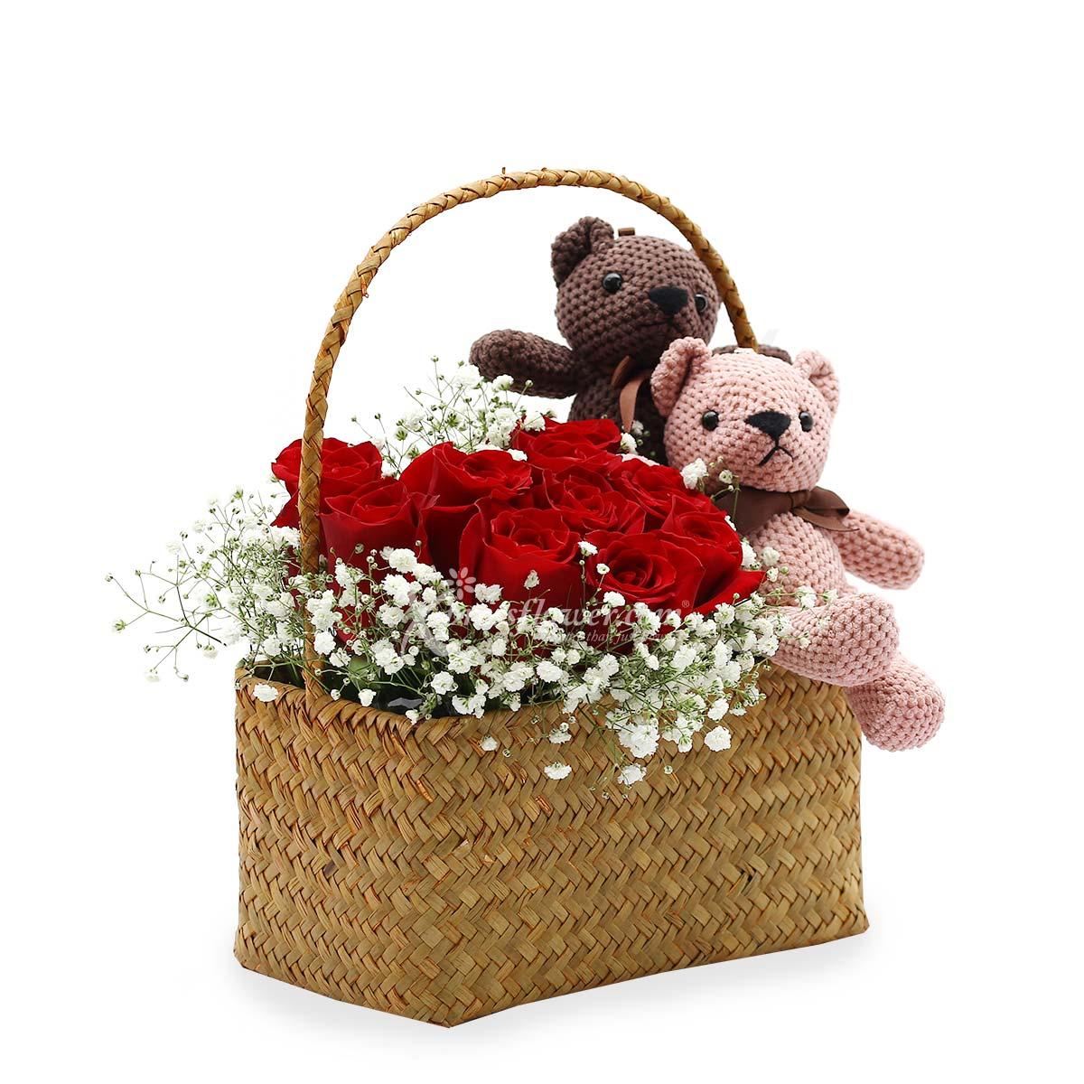 ST1807 Romantic Basket