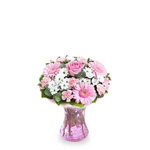 PINK-THEMED FLOWER ARRANGEMENT (UK)