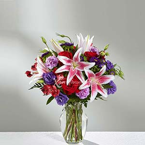 PINK LILY ARRANGEMENT (US)