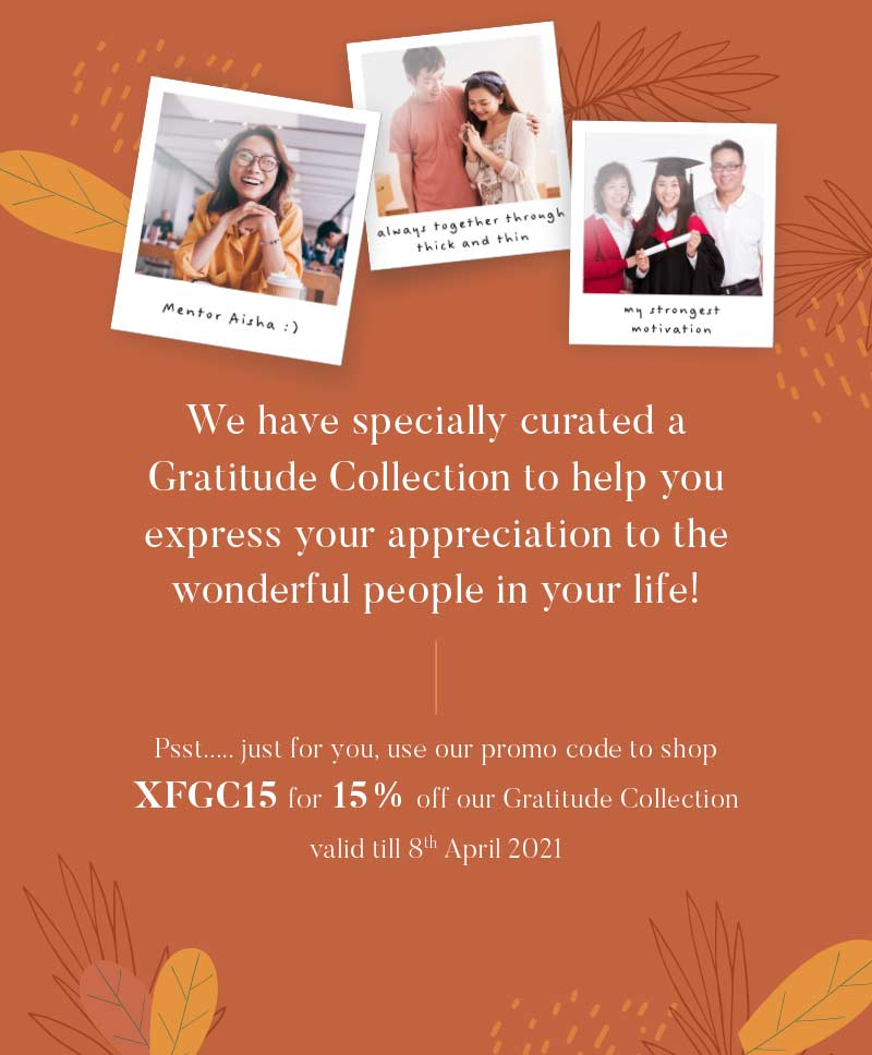 Gratitude Collection landing page Banner 2