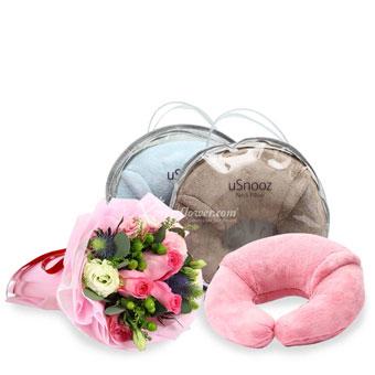 uSnooz Neck Pillow