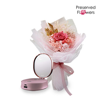Refreshing Beauty (Preserved Flowers with OSIM uGlow Mist)