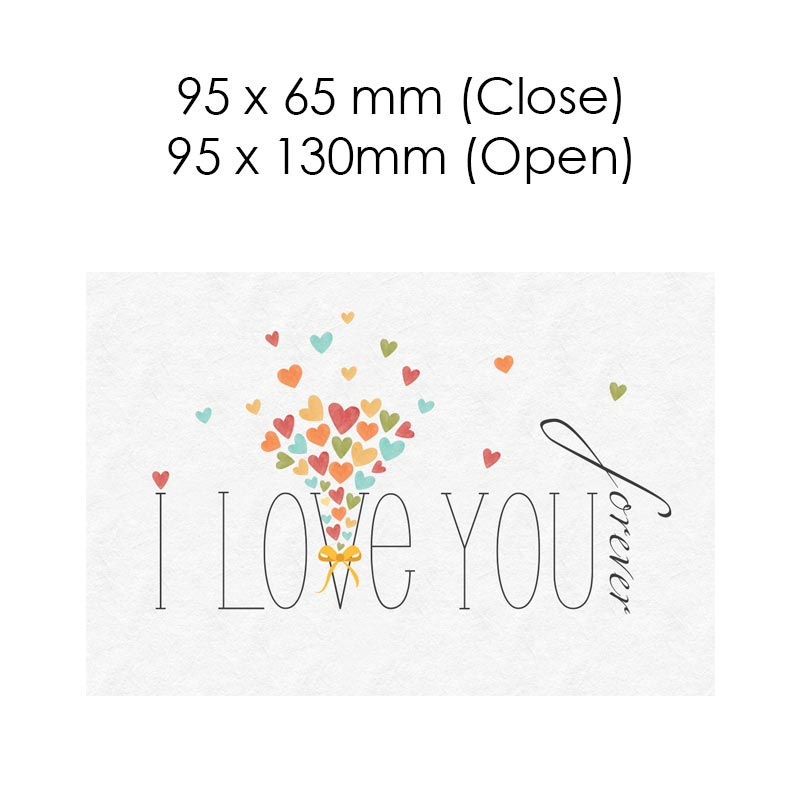 I Love You Forever (Blank Card)